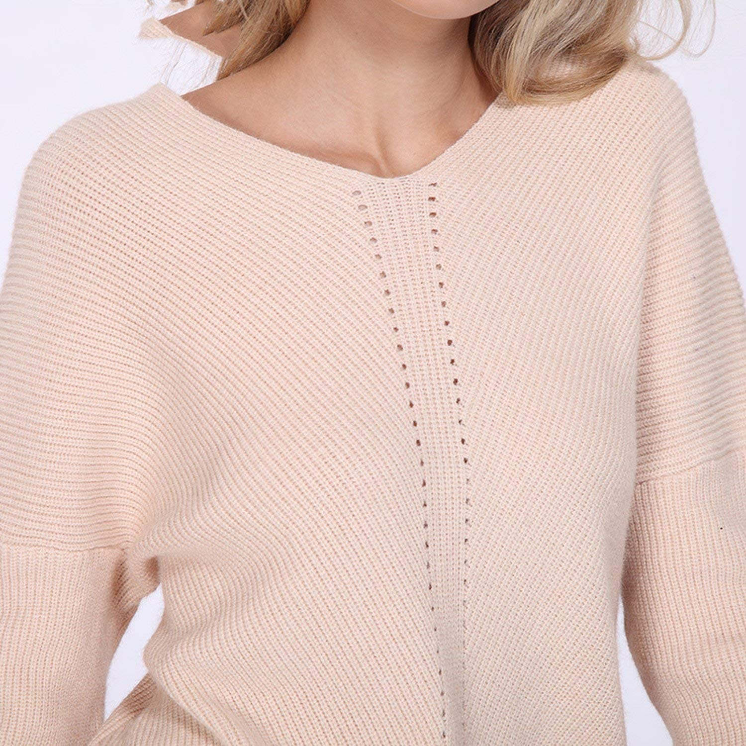 Autumn Winter Knit Pullovers Women Long Sleeve Basic Cashmere Sweater Women Pullover Knitted Casual Blue Jumper