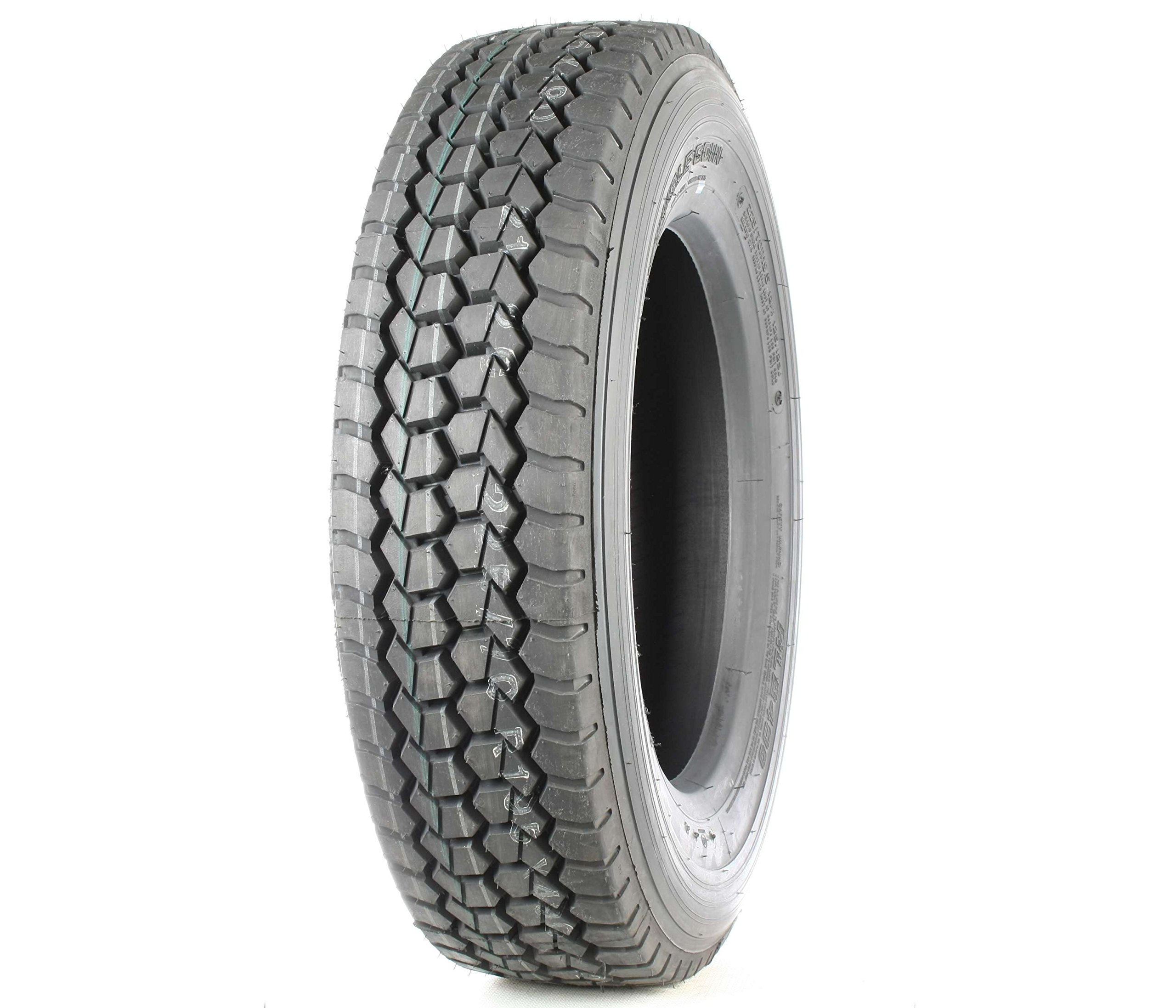 Double Coin RLB490 Low Profile Drive-Position Multi-Use Commercial Radial Truck Tire - 225/70R19.5 12 ply by Double Coin (Image #3)