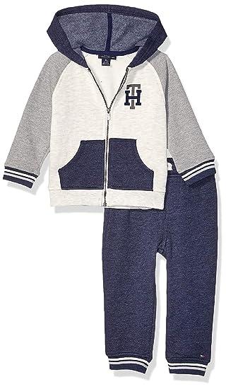 Tommy Hilfiger Boys 2 Pieces Hooded Jog Set