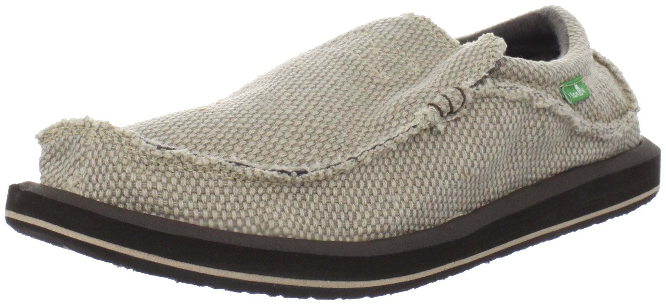 Sanuk Men's Chiba Slip-On, Tan, 11 M US
