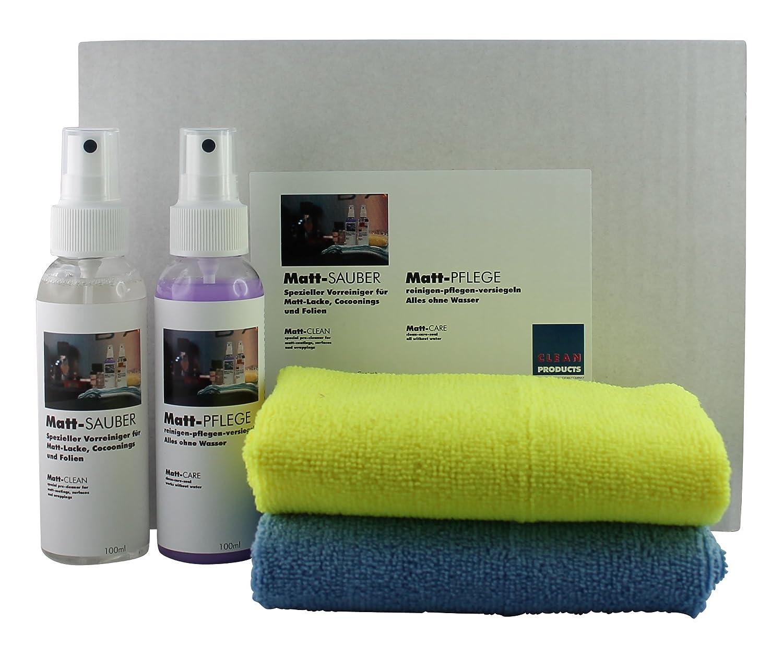 Wunderbar Küchenoberflächen Das Beste Von Cleanproducts Cleanhome Set Matt-sauber + Matt-pflege -