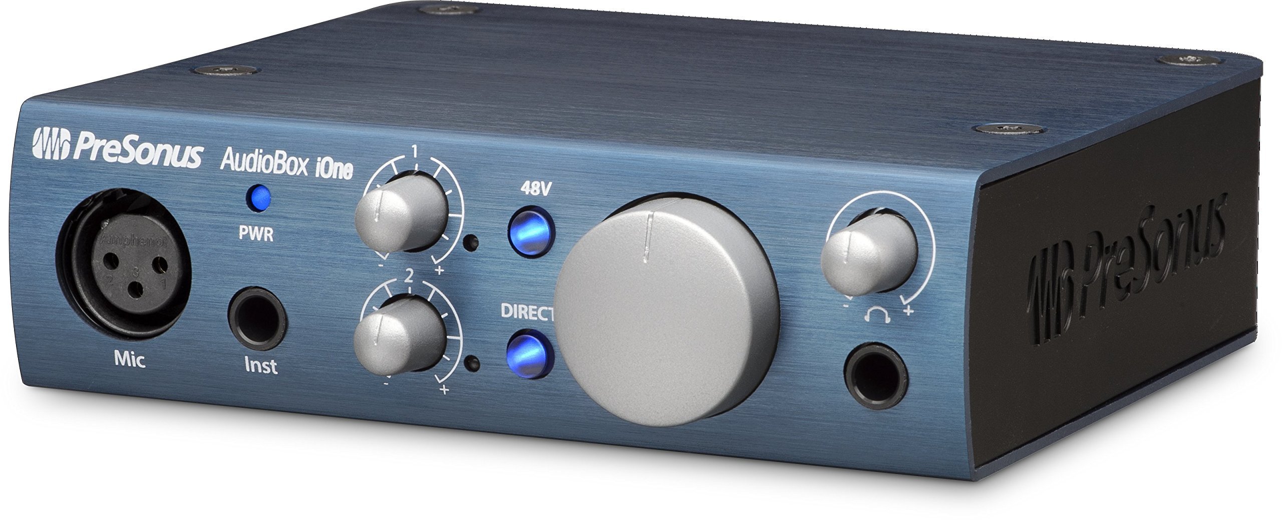 PreSonus AudioBox iOne 2x2 USB/iPad Audio Interface by PreSonus