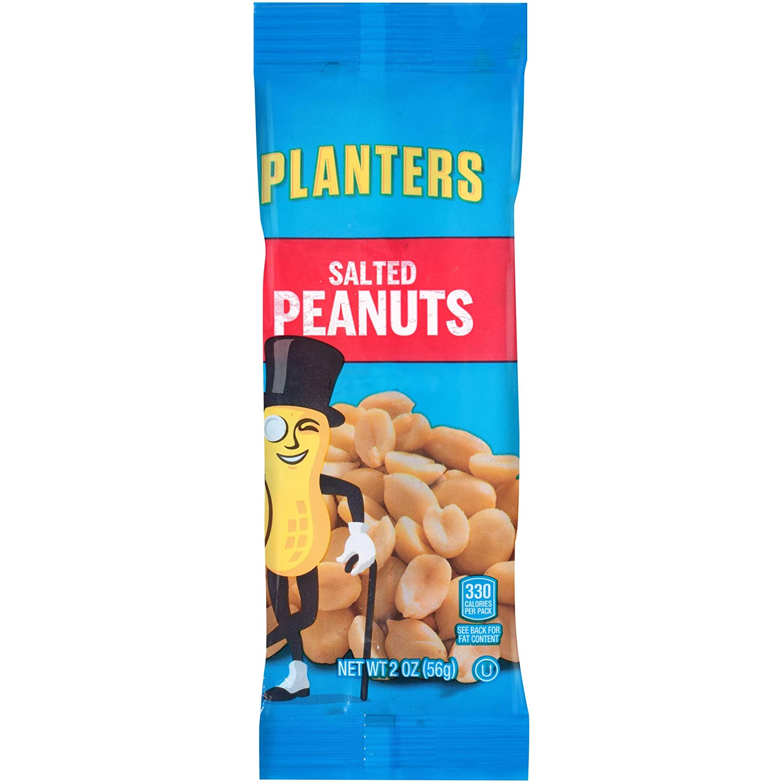 Amazon.com : Planters Single Serve Salted Peanuts, 1 oz. Bags (Pack on amazon home, amazon hammocks, amazon fire pits, amazon wall art, amazon lamps,