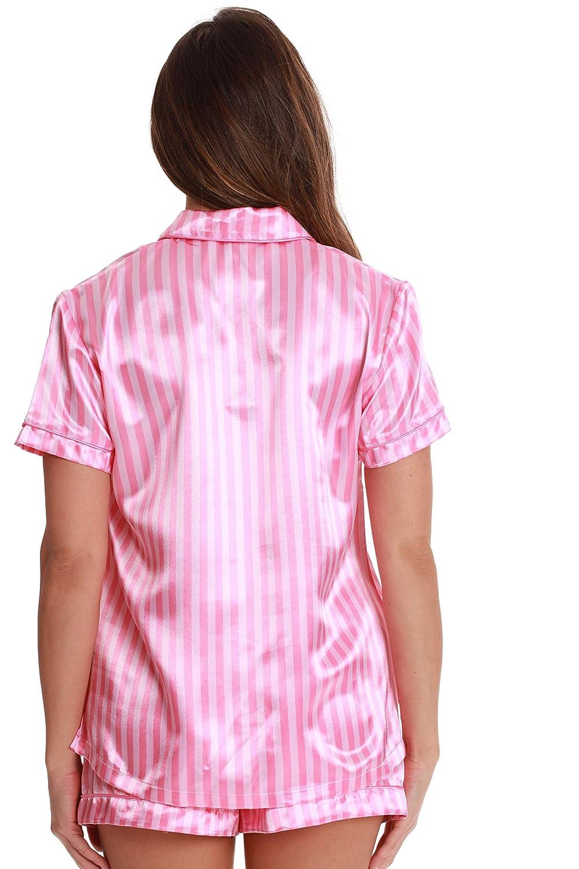 Just Love Solid Satin Pajama Short Set for Women Sleepwear PJs