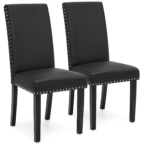 Amazon.com: Mejor elección productos juego de 2 sillas de ...