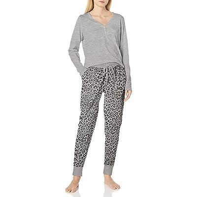 Splendid Women's Long Sleeve Henley and Jogger Pajama Lounge Set at Women's Clothing store