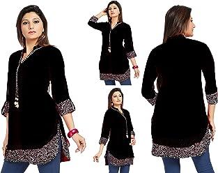 Unifiedclothes UK Stock - Women Fashion Party Indian Kurti Tunic Kurta Top Shirt Dress SC1030B