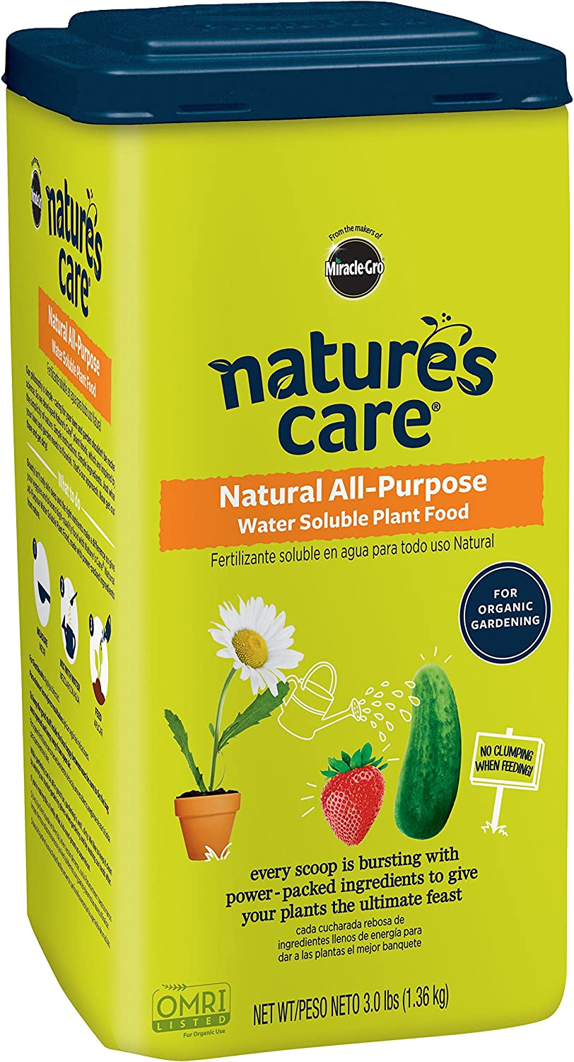 Nature's Care Natural All-Purpose Water Soluble Plant Food