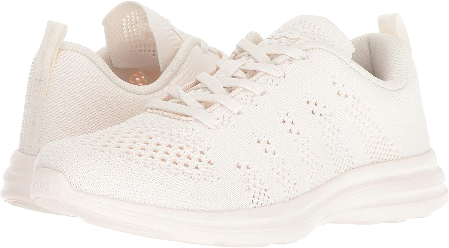 APL: Athletic Propulsion Labs Women's Techloom Pro Sneakers B07BH3LQ5C 7.5 M US|Sea Salt