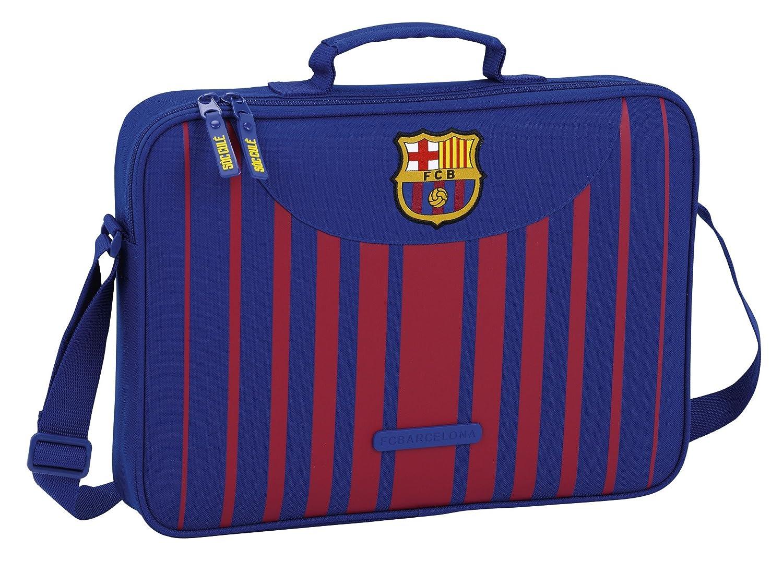 Safta Maletí n F.C. Barcelona 17/18 Oficial Para Ordenador 380x60x280mm 611729385