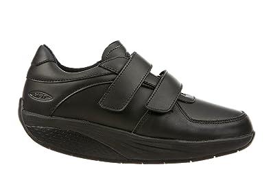 MBT Unisex-Erwachsene Karibu 17 Velcro Strap Arbeitssneaker Schwarz
