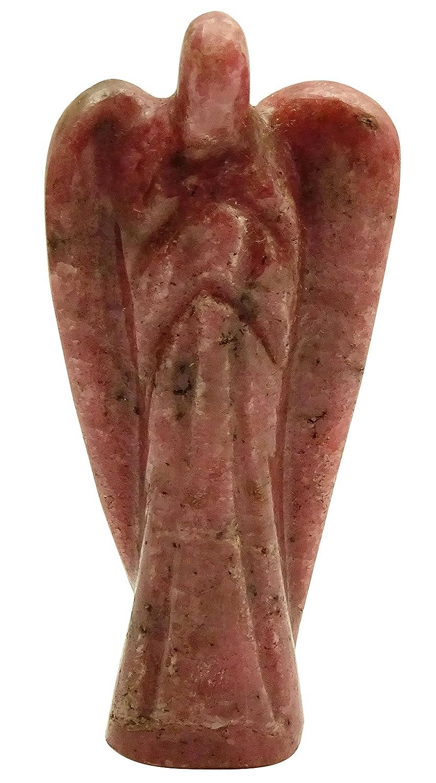 Harmonize Iolite Gemstone Carved Angel Psychic Spiritual Guardian Reiki Healing Stone
