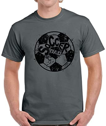 208d82c1 Amazon.com: Pekatees Soccer Dad Shirt Men's Soccer Shirt Soccer Dad Gifts  Father's Day Shirt: Clothing