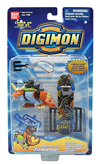 Amazon.com: Digimon Digital Monsters Llavero/Dedo Fijaciones ...