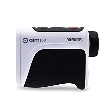 GOLFBUDDY aim L10 Laser Rangefinder Black White