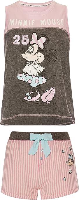 Primark – Mono de niña Disney Minnie Mouse rosa pijama PJ ...