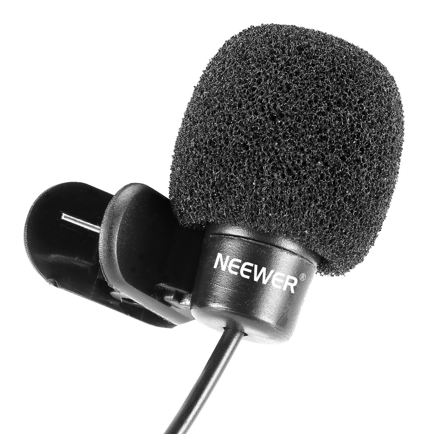 Multidirectional Microphone Amplifier Neewer 35mm Hands Free Computer Clip On Mini Lapel Microphone3x Musical Instruments