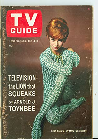 1965 TV Guide Dec 4 Juliet Prowse - North Texas Edition NO MAILING