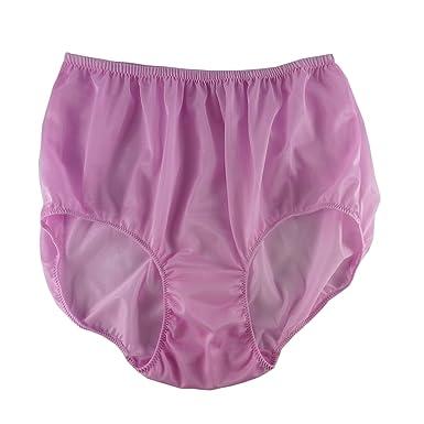 1c84596295605d Fair Pinnk Full Briefs Nylon Plain New Knickers Panties Underwear Lingerie  Men Women (XL(
