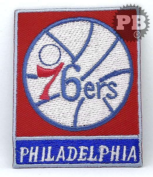 Parche bordado para planchar o coser #916 NBA Philadelphia 76ers ...