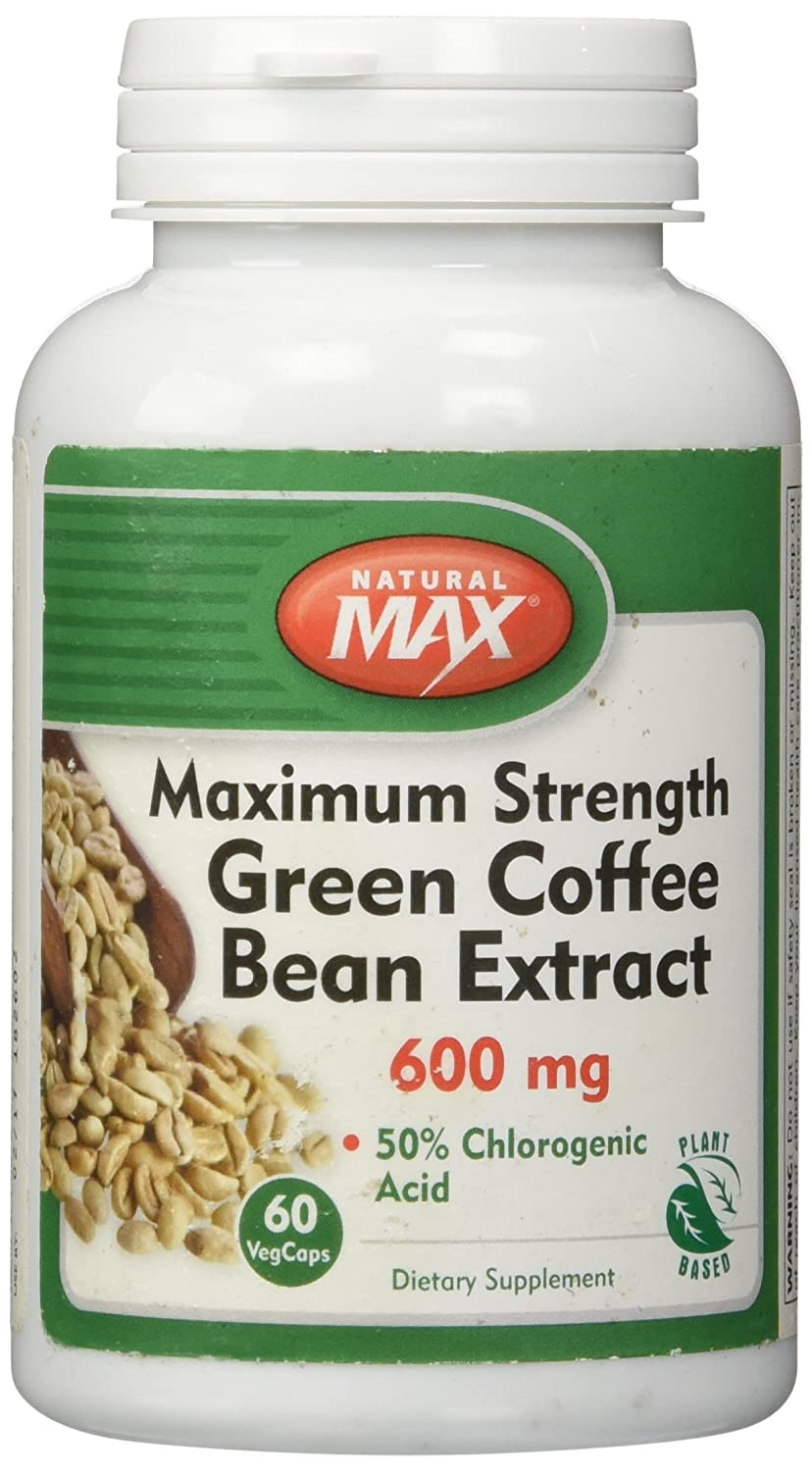 green coffee bean extract 600 mg
