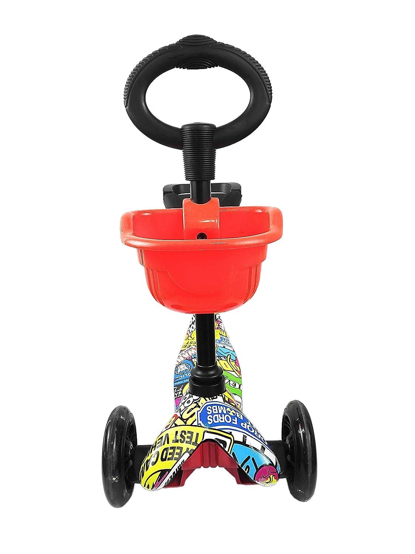 Zerimar Kenrod Patinete 3 Ruedas para Niños Entre 3 y 10 años Scooter - Múltiples Modelos y Colores