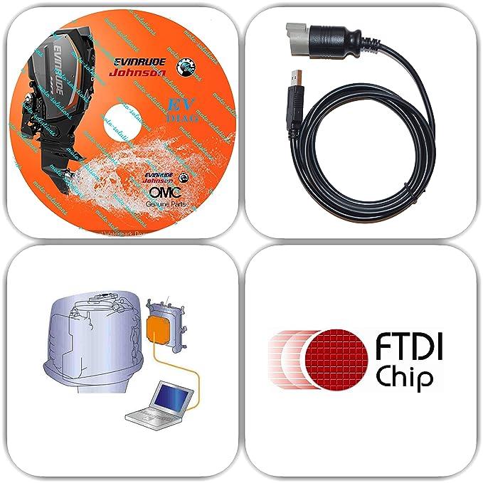 Evinrude ficht diagnostic software download.