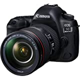 Canon EOS 5D Mark IV Premium Kit with EF 24-105mm f 4L IS II Digital Camera - SLR(5DIVPK) 3.2Inch Display,Black (Australian warranty)