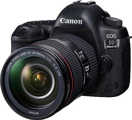 97171b558e67 Buy Canon EOS 5D Mark IV 30.4 MP Digital SLR Camera (Black) + EF 24-105mm  is II USM Lens Kit Online at Low Price in India