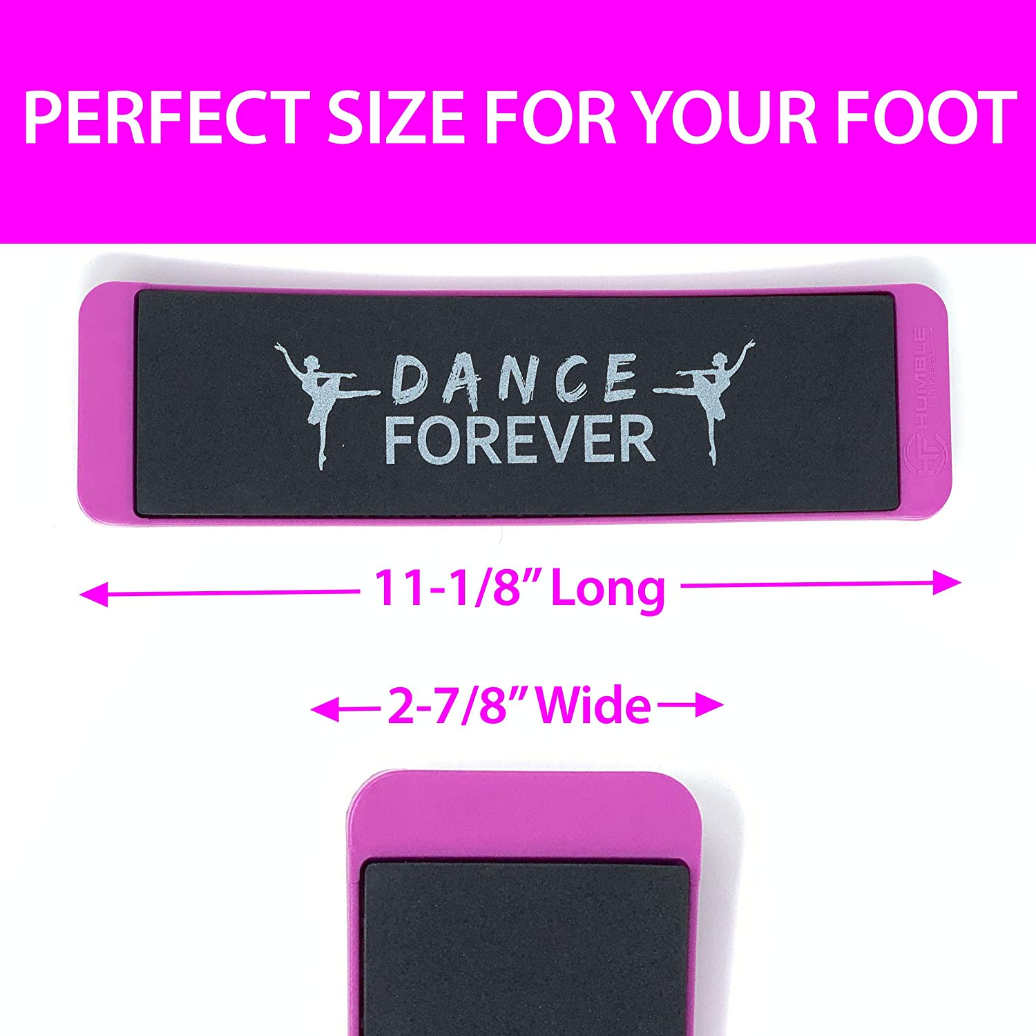 Ballet Turning Boards for Improving Balance and Turns|Figure Skating and Dance Training Equipment|Gymnastic Balance Equipment and Turning Boards Humble Fitness Turning Boards for Dancers