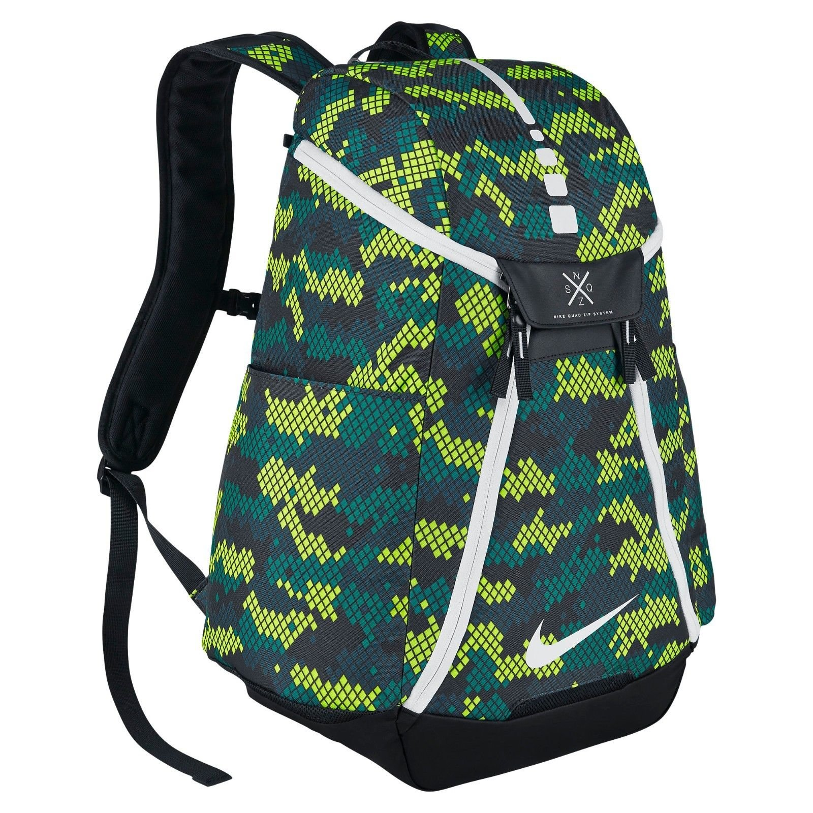 Nike Hoops Elite Max Air Team Backpack Bag in Rio Teal/Black/White BA5260-351
