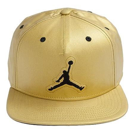 Nike Jordan 5 Snapback Gorra, Hombre, Dorado (Metallic Gold/Black), Talla Única: Amazon.es: Deportes y aire libre