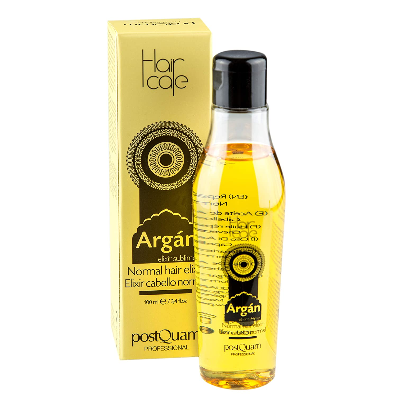 Postquam - Hair Care | Aceite de Argan Sublime para Cabellos Frágil - 100ml: Amazon.es: Belleza