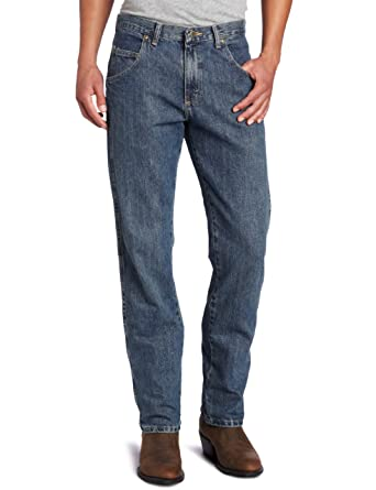 21ca809d31e9a Wrangler Men's Big & Tall Rugged Wear Regular Straight-Fit Jean at Amazon  Men's Clothing store: