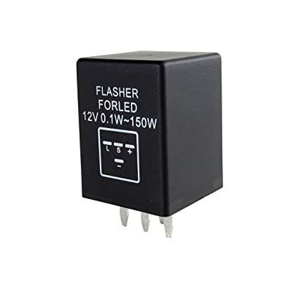4 pin led flasher relay wiring electrical drawing wiring diagram amazon com bar autotech 4 pin ep29 ep29n electronic led rh amazon com 3 pin flasher relay wiring 3 way flasher wiring diagrams cheapraybanclubmaster Gallery