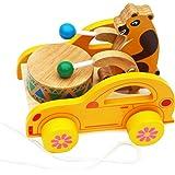 Toys of Wood Oxford tiro di legno lungo tamburo
