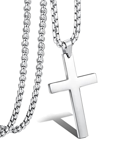 company pewter catholic necklace the rope cross
