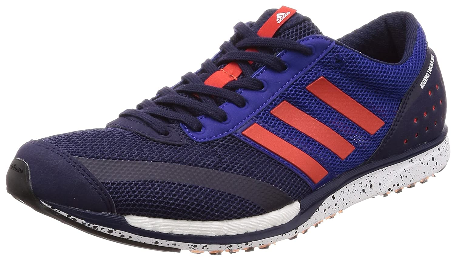 promo code c26ff 89a7d adidas Unisex Adults Adizero Takumi Sen Running Shoes, Multicolour (Noble  Ink F17Hi-Res Red S18Real Purple S18 Noble Ink F17Hi-Res Red S18Real  Purple ...