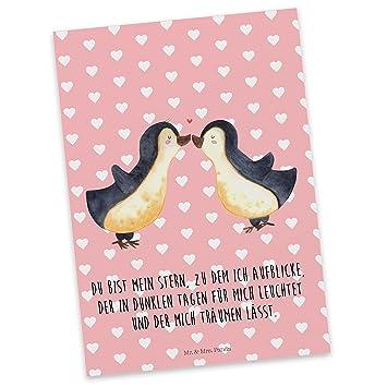 Mr Mrs Panda Postkarte Pinguin Liebe 100 Handmade In