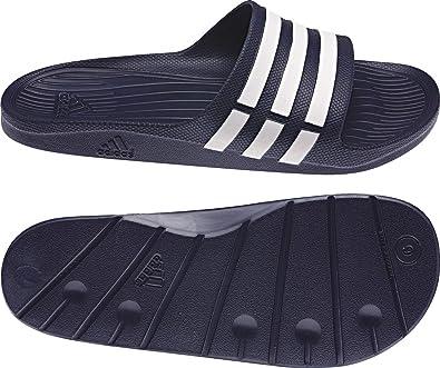 0af70c8de adidas - Sandals   Flip Flops - Men s Duramo Slide - Blue - 18  Amazon.co.uk   Shoes   Bags