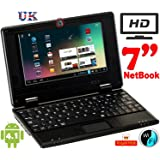 Bositools 7 Inch Netbook (512 MB RAM, 4 GB, Android 4.1), Black