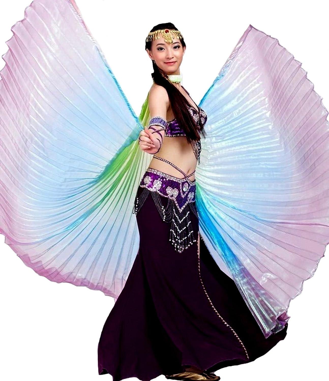 ISIS Wings alas velo Danza del Vientre Belly Dance Disfraz Samba ...