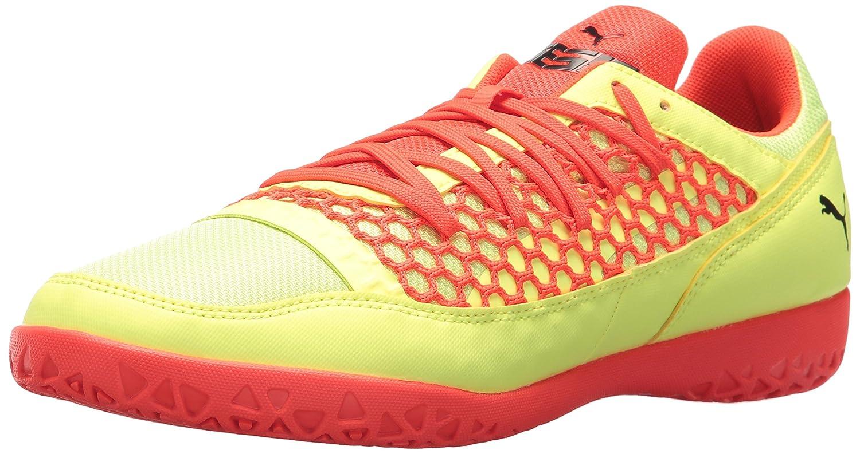 PUMA Men's 365 NF CT Soccer Shoe B0721J1PSR 10.5 D(M) US Fizzy Yellow-red Blast-puma Black