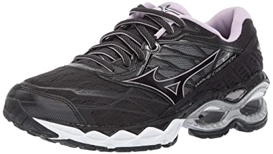 half off d6420 90e05 Mizuno Women s Wave Creation 20 Running Shoe, Black 6 ...