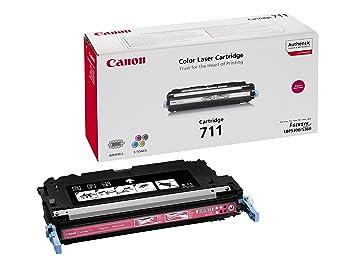 Canon cartucho 711 de tóner original magenta para impresoras ...