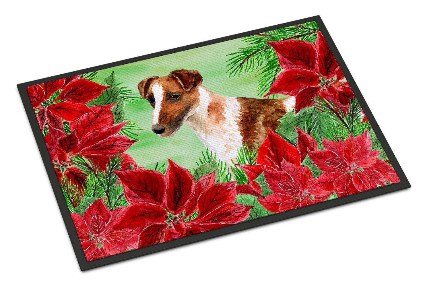 Carolines Treasures Maremma Sheepdog Spring Doormat 18 x 27 Multicolor