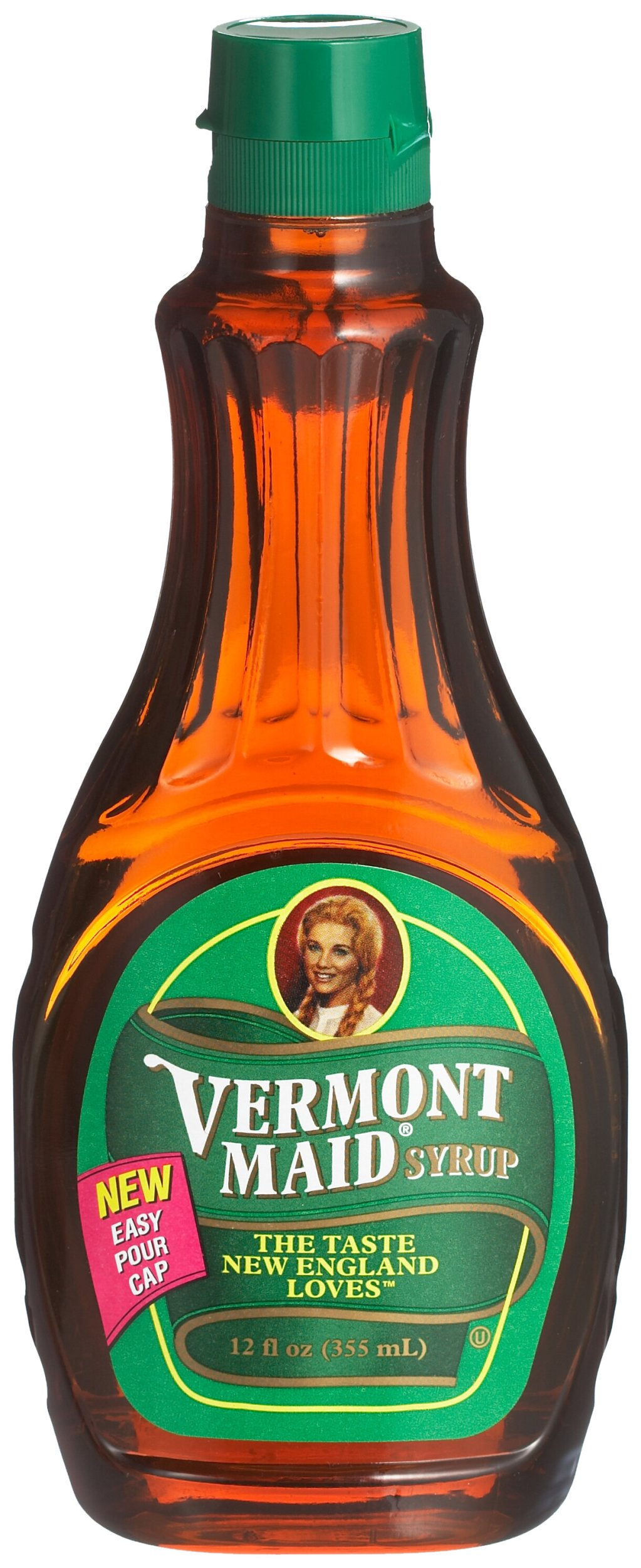 Vermont Maid Syrup, 12-Ounce Units (Pack of 6)