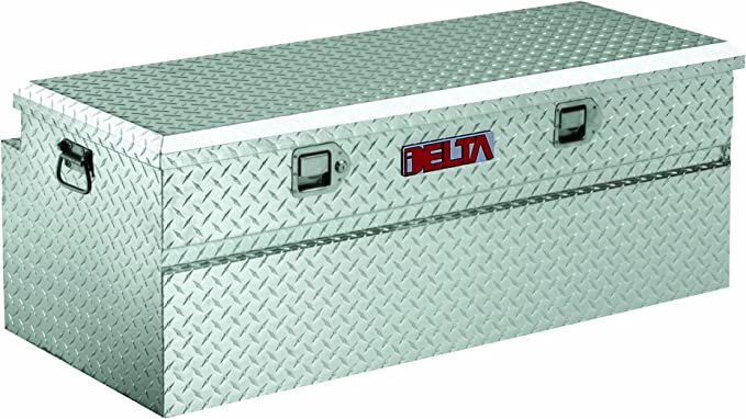 Delta 814000 White 32-5//8 Long Steel Portable Utility Chest Truck Box