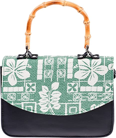 Tasche Bambus Küstenluder Handtasche Vintage Halina Damen dxEQCoWerB