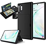 Note 10 Plus Pro Case compatible with Samsung Galaxy Note 10+ with Card Holder and Kickstand I Wallet Cases Note10 Holster Back Protective Covers I scratch-proof shock-absorption heavy duty power Case